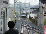 和歌山行電車接近