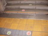 猫の足跡@和歌山駅構内