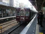 梅田行普通電車の3300系