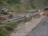 直江津行始発列車
