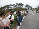 有名撮影地の大渋滞