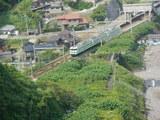 青海川駅を出た115系