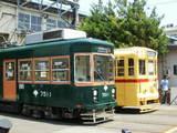7511号旧阪堺電軌塗装