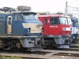 EF66とEH500それにEF64