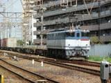 EF65PF牽引のコンテナ列車