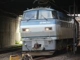 通過するEF66117号機