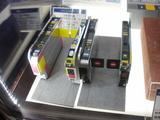 フィギュアサイズ向け自動改札機