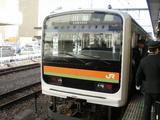 八高線用209系電車
