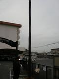 横浜市電最後の架線柱